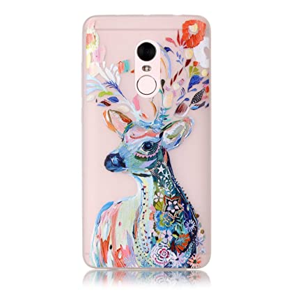 Xiaomi Redmi Note 4 Case, Luminous Noctilucent Glow in the Dark Case Matching Design Protective Phone Back Cover TPU Shell Case for Xiaomi Redmi Note ...