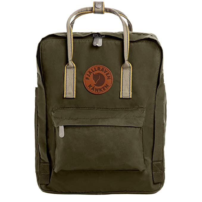 Fjallraven - Kanken Greenland Backpack for Everyday, Deep Forest/Greenland Backpack for Everyday Pattern