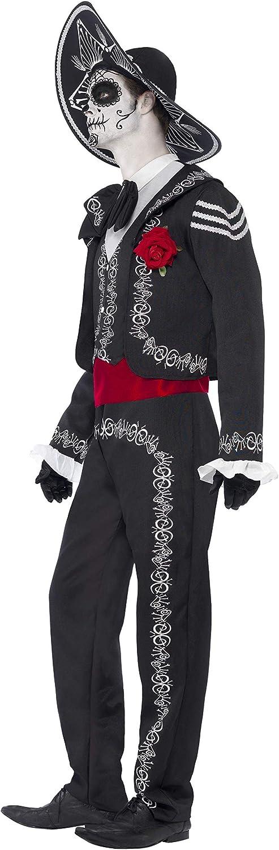 Smiffys 43738S Día de Muertos Señor Bones - Disfraz para adultos ...