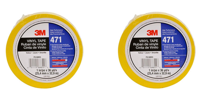 0b1022ff1ce Amazon.com  3M Vinyl Tape 471 Yellow