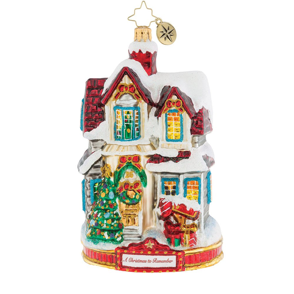 Christopher Radko I'll Be Home For Christmas Ornament