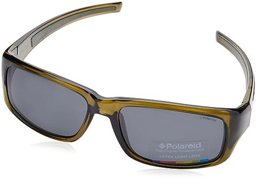 Polaroid PLD 3013/S Y2 T12 57, Gafas de sol para Hombre, Verde