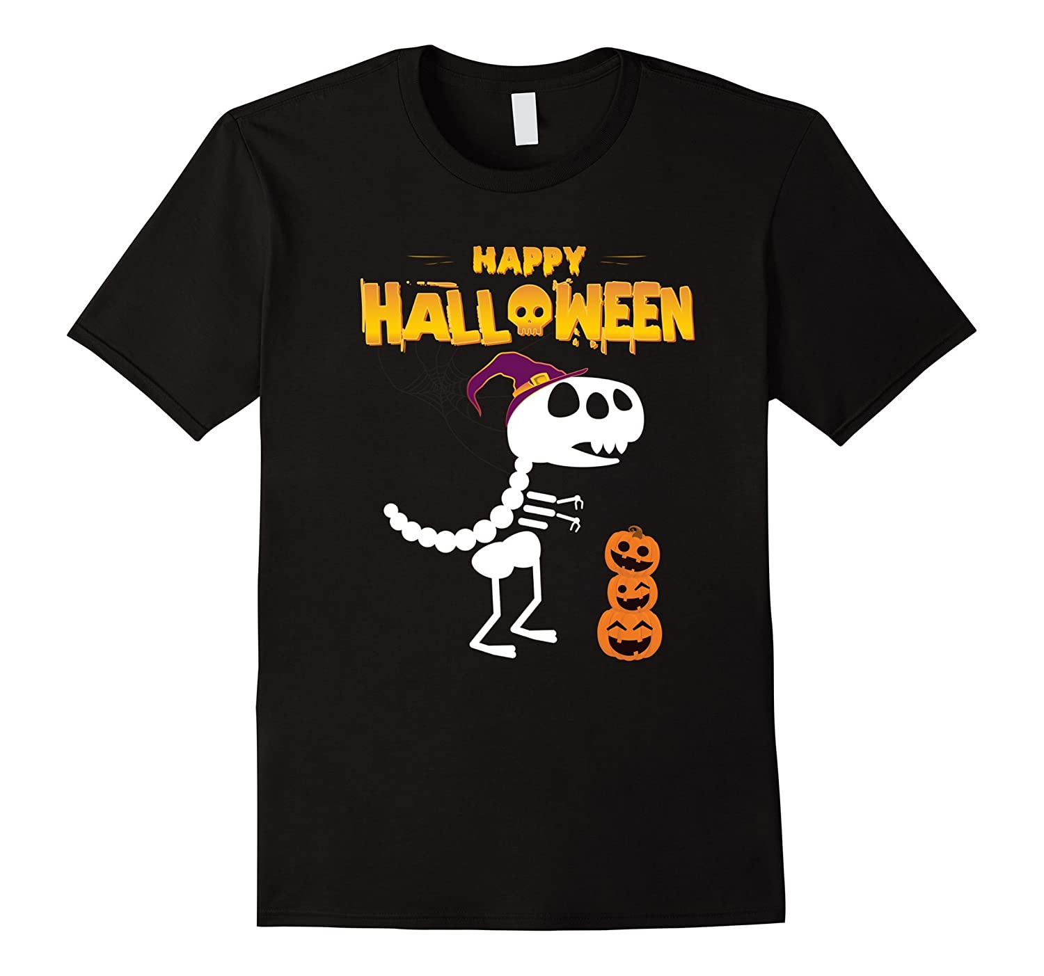 Funny Happy Halloween T-Rex Shirt - perfect gift-FL