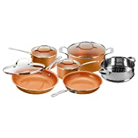 Gotham Steel 10-piece Non-Stick Cookware Set Deals