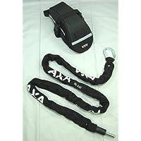 Axa RLC 140 Einsteckkette Schwarz für AXA Defender, Victory und Solid
