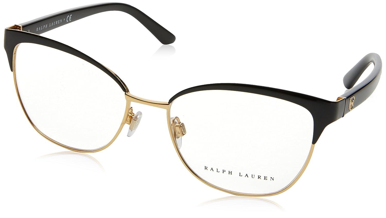 14a1ee4b8659a Ralph Lauren RL5099 Eyeglass Frames 9003-55 - Black RL5099-9003-55   Amazon.co.uk  Clothing