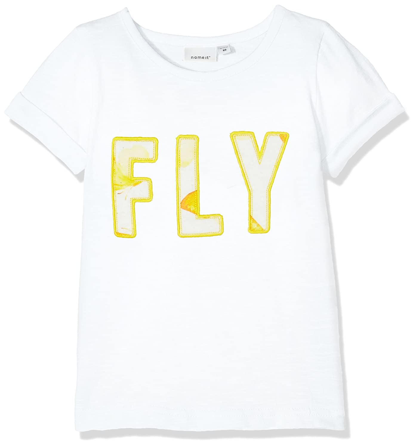 NAME IT Baby-Mädchen T-Shirt Nmfjosephine SS Top 13156381