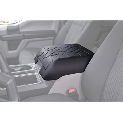 Boomerang Tire Tread Armpad for 2015-2020 Ford F150 - Center Console Armrest Cover: Automotive