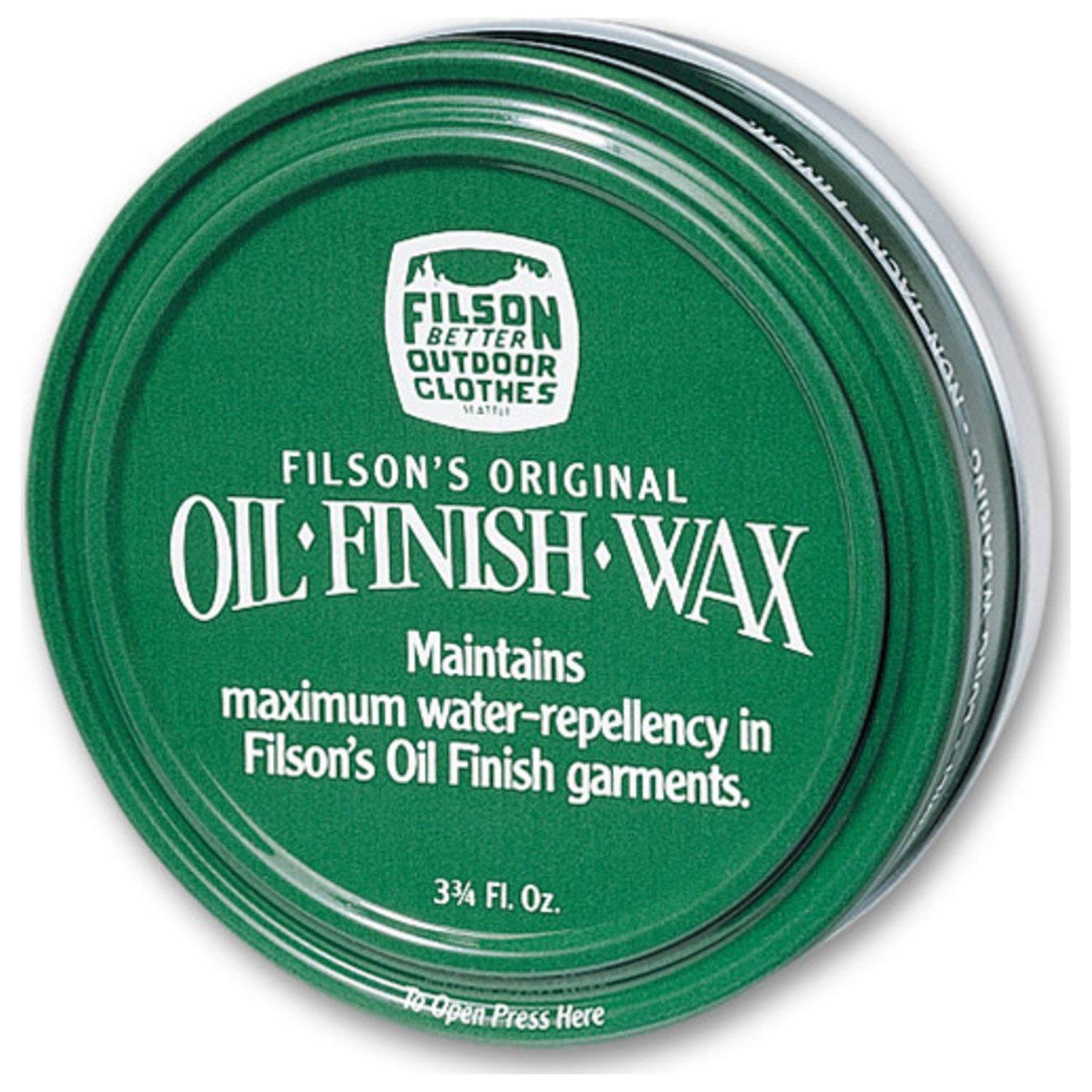 Filson Oil Finish Wax 11069033 by Filson