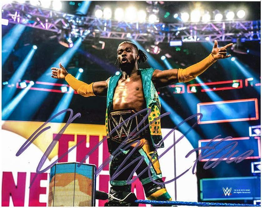 WWE Kofi Kingston 8 x 10 Autographed Photo