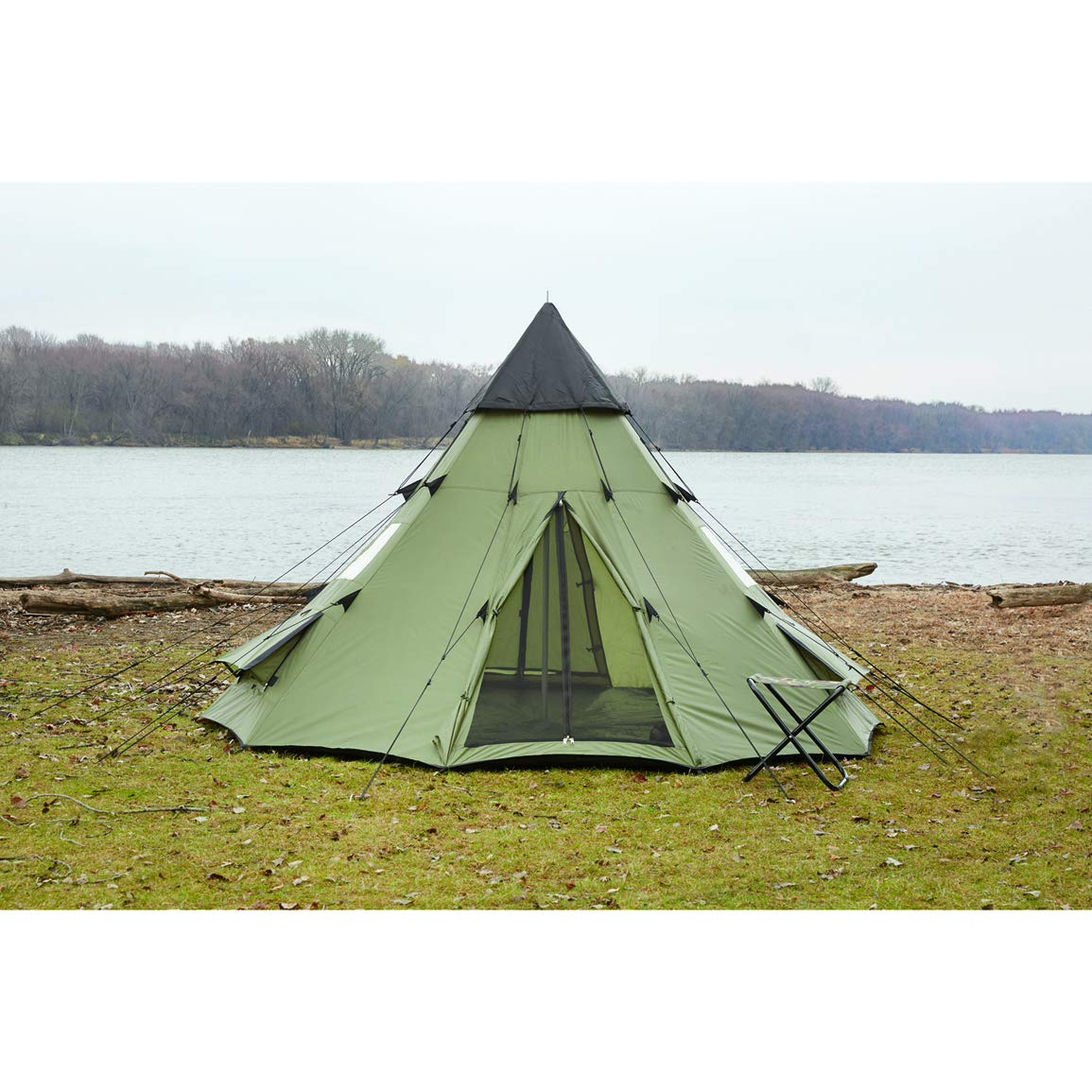 Guide Gear Teepee Tent, 10' x 10'