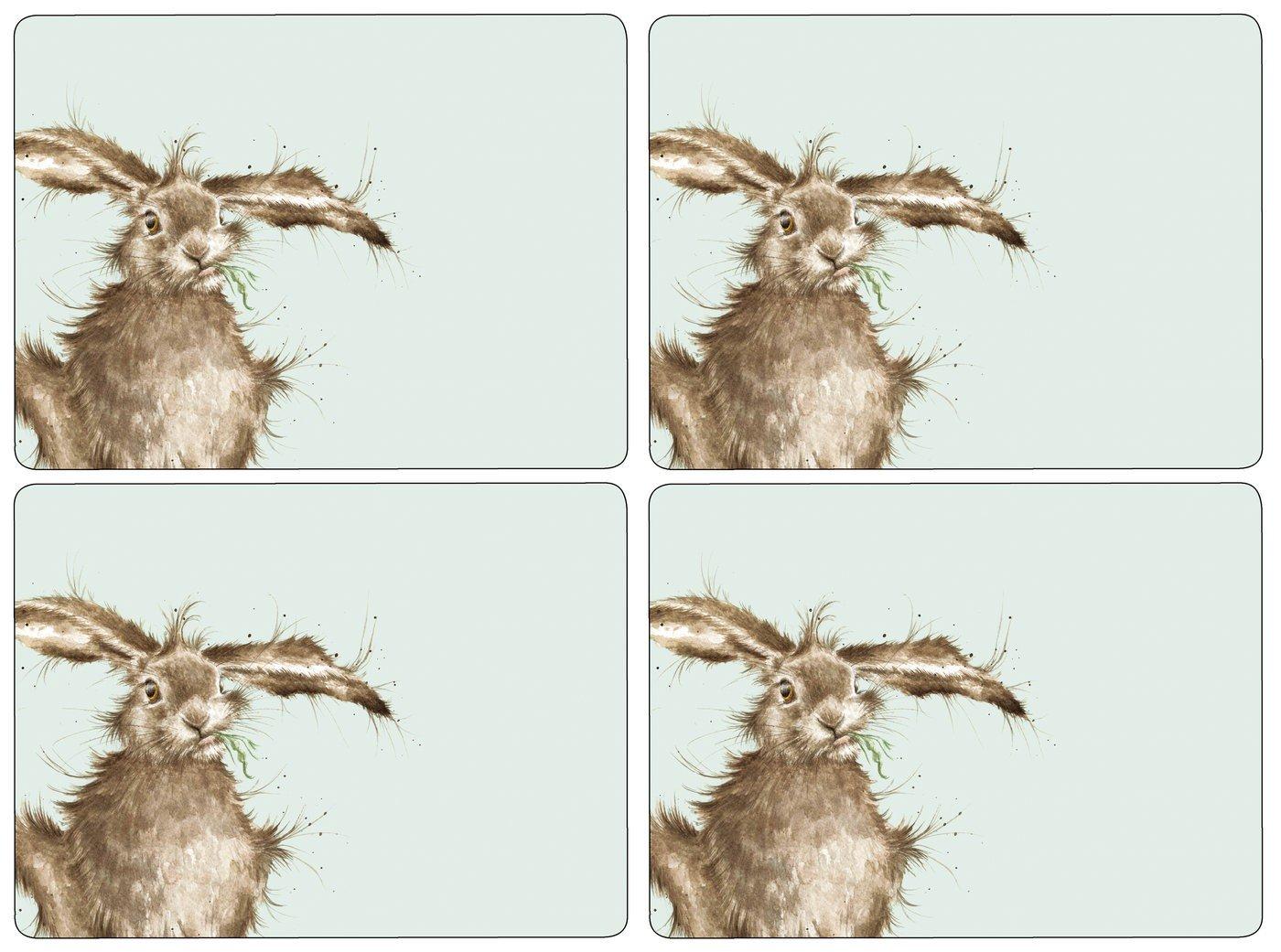 Pimpernel Tischsets - Wrendale Hare - 4er 4er 4er Satz B06XGLKB51 Tischdecken f15e25