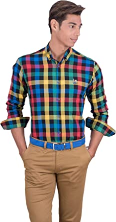 La Vespita Camisa de Cuadros Logo Vespa: Amazon.es: Ropa y accesorios