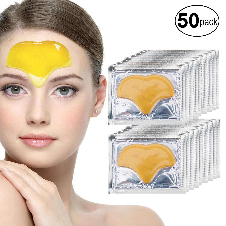 Amazon Com Anti Aging Treatments Set Of 50pcs Forehead 24 K Gold