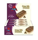 Atkins Endulge Crispy Milk Chocolate, Low Carb, Low Sugar Snack Bar, 15 x 30g
