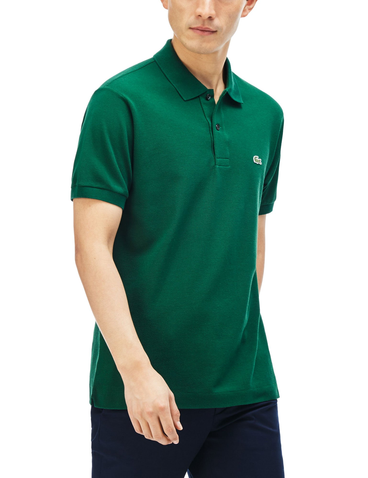 Lacoste Men's Regular Fit Polo T-shirt L1212-132 Xl Green