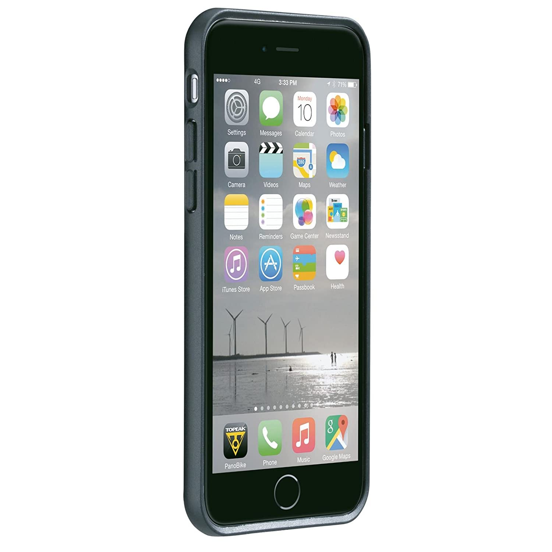 Topeak RideCase - para iPhone 6/6S/7 sin Soporte Negro 2018