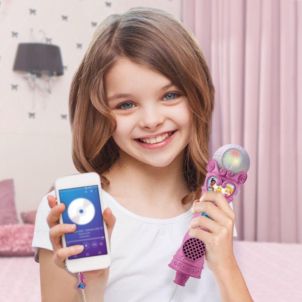Disney Princess Sing-Along Mp3 Princess Microphone KIDdesigns DP-070