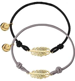 48cfaf2363713 ... Lien Coulissant Femme Cristal Swarovski trèfle Porte Bonheur Lucky Me -  Bijoux créateur Fait… EUR 14,90 · Yadoca 2 Pcs Elastique Bracelets Cordon  pour ...