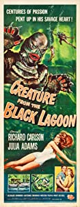 Creature From The Black Lagoon Insert Movie Poster 14X36 #01