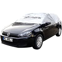 PEARL PKW Halbgarage: Auto-Halbgarage für Mittelklasse Kombi, 380 x 138 x 40 cm (Halbgaragen Autos)
