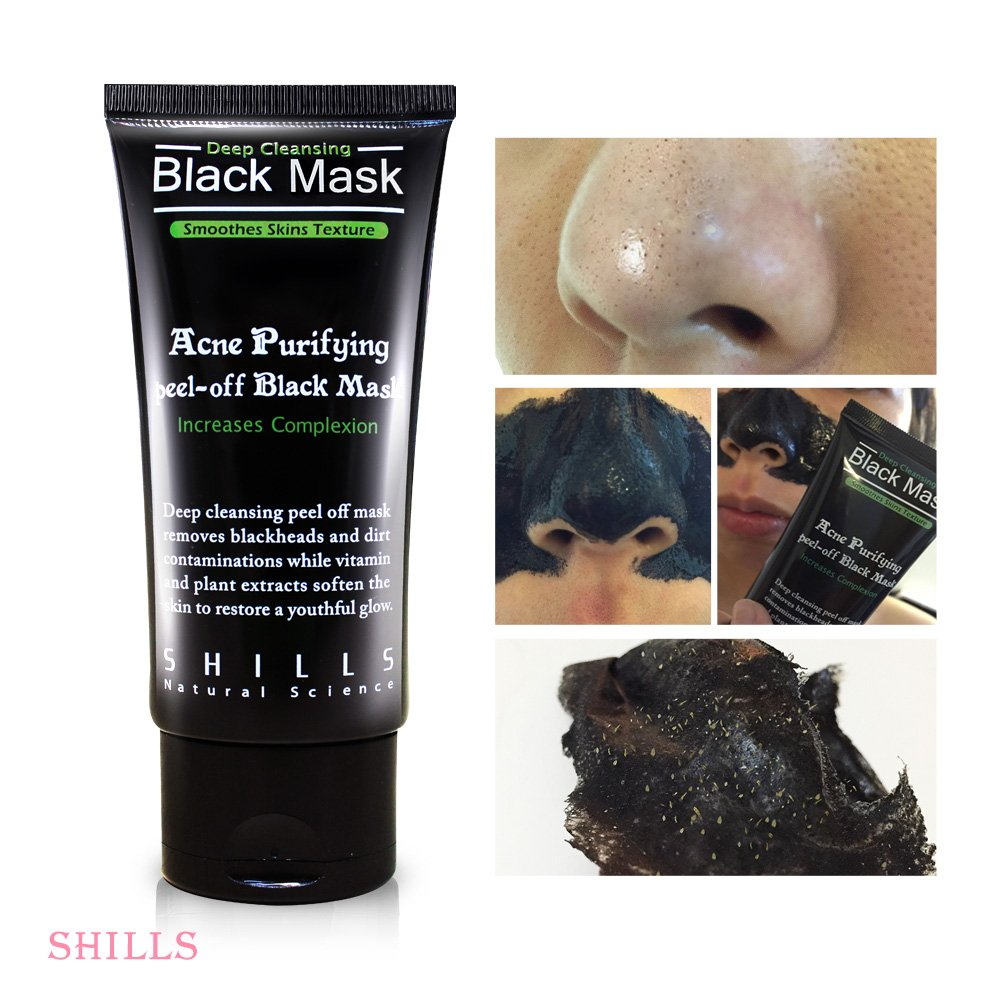 Shills Black Mask Blackhead Peel Off Remover Original Purifying Shill Home Accessories