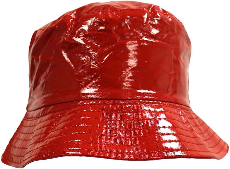 Crushable Bucket Rain Hat