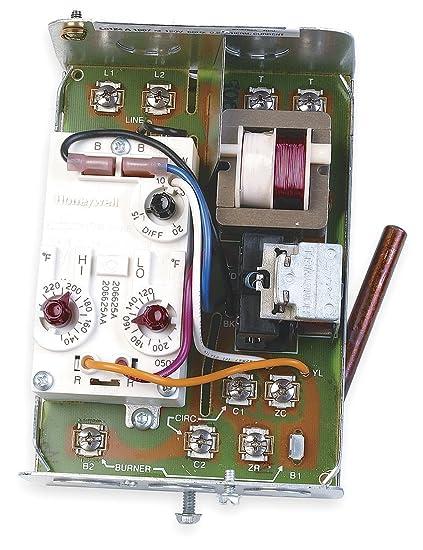 l8124g1020 honeywell high limit triple aquastat relay with spst rh amazon com