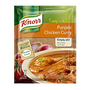 Knorr Ready To Cook Punjabi Chicken Curry 50g Amazonin