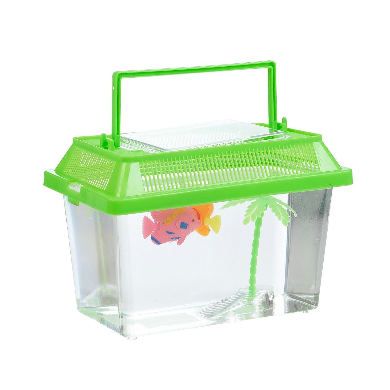 Kunststoff-Aquarium, Fischtank, grün, S grün EGT