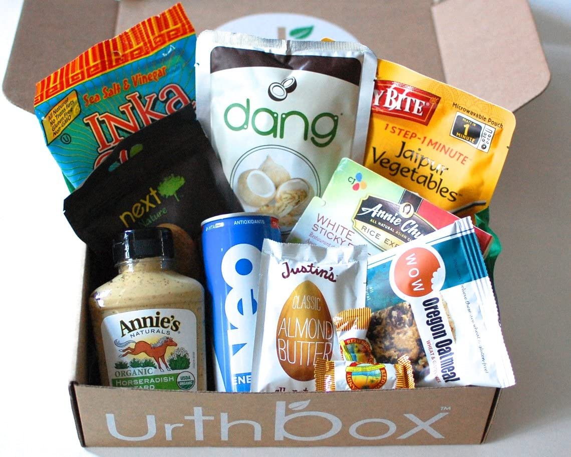 UrthBox Snacks and Food Subscription box