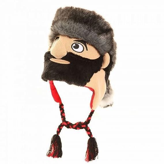 Gorro para Inverno Estilo Peruano con diseño de Personajes para niño (Talla Única/Leñador