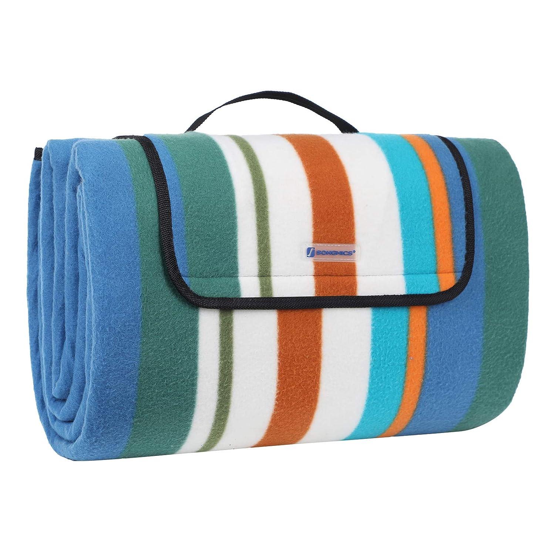 para Acampada Jard/ín Playa Picnic Yorbay Estera de Playa Manta de Picnic 200 x 200 cm Impermeable con Bolsa
