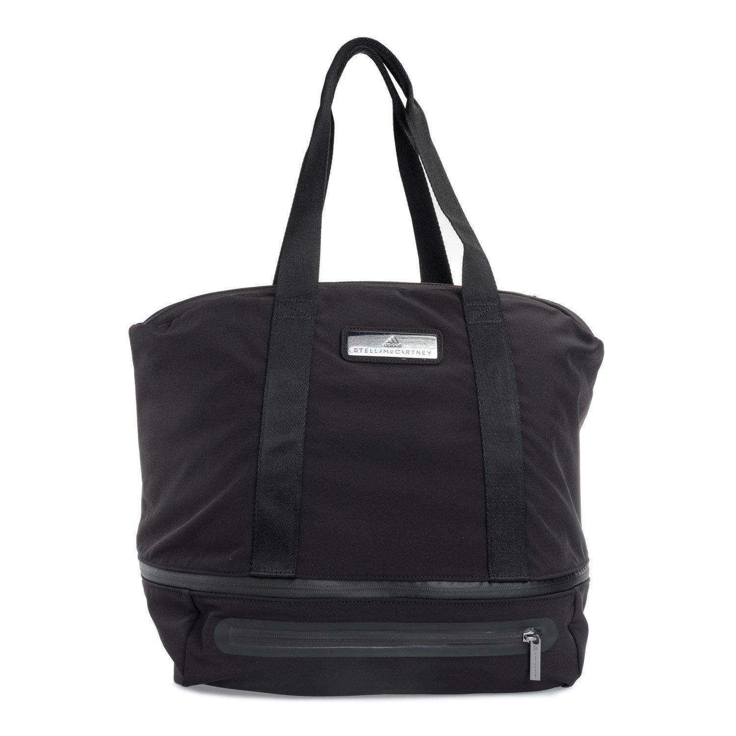 adidas by Stella McCartney Large Iconic Bag in Black/Night Steel Black/Negro/Ngtste/Icegry Nicht zutreffend CE2492