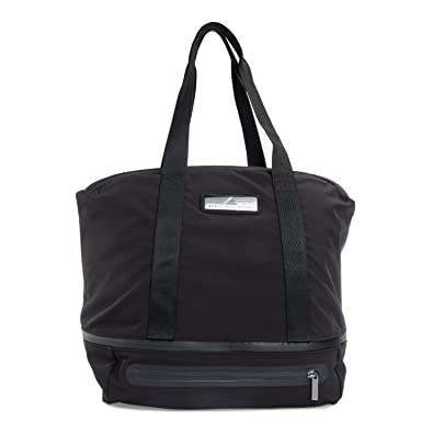 71dde328aa adidas Women s Iconic Bag L Bag - Black Negro Ngtste Icegry. Roll over  image to zoom in. adidas by Stella McCartney