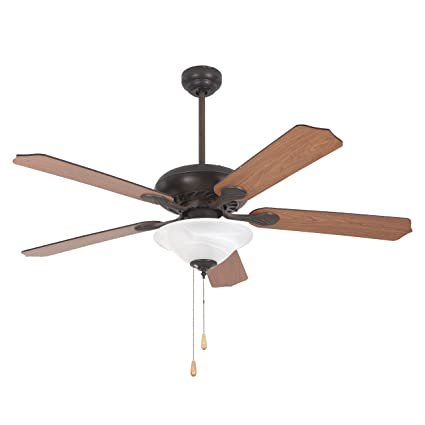 Yosemite Home Decor Whitney Orb 2 52 Inch Ceiling Fan In Oil Rubbed