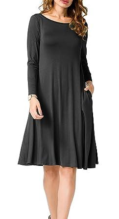 Knee Length Swing Dress