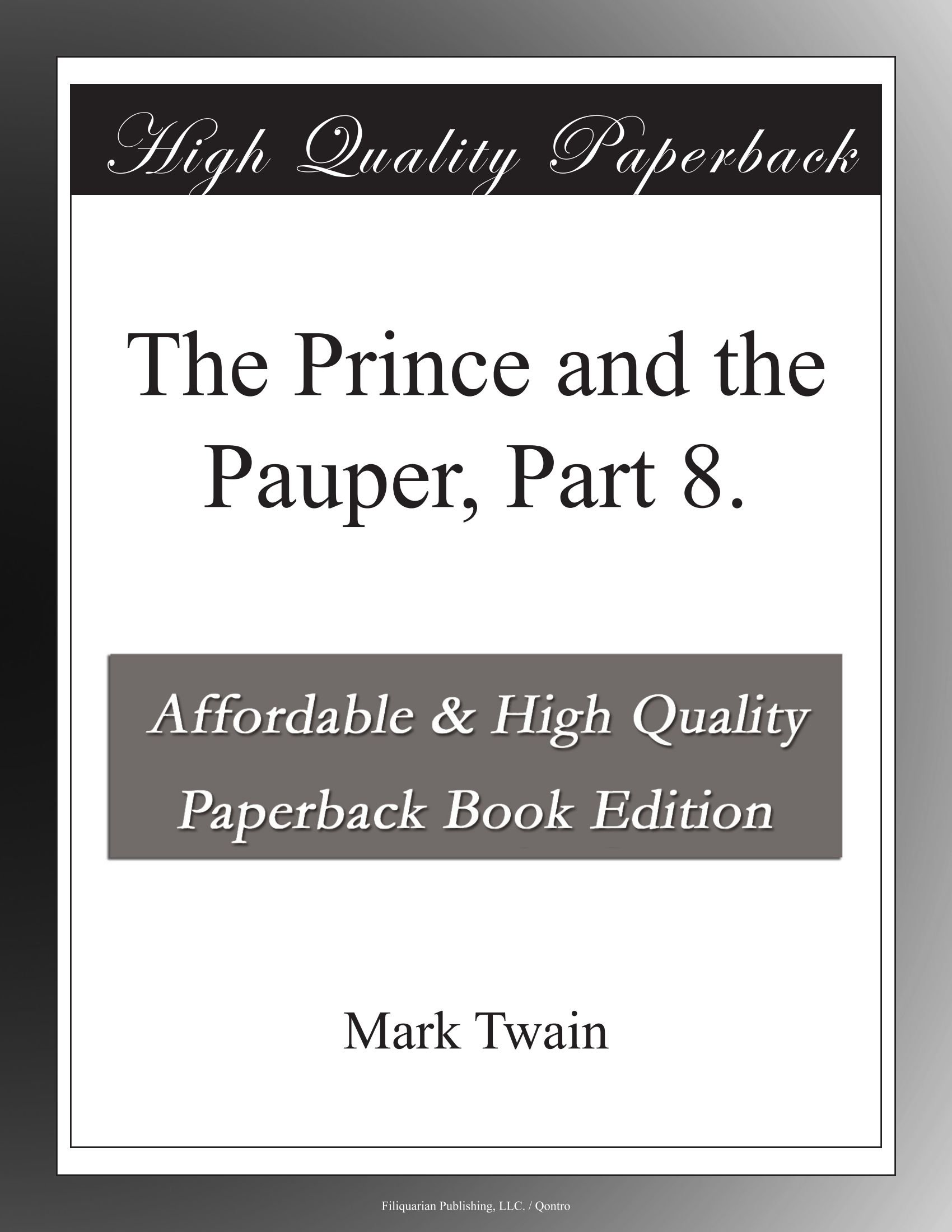 Download The Prince and the Pauper, Part 8. PDF