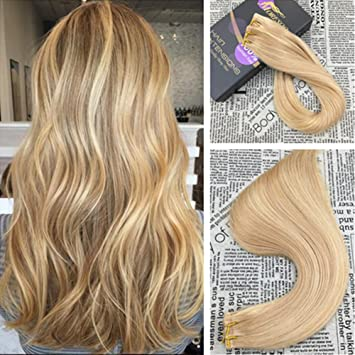 Amazon moresoo 20 inch tape in extensions full head set moresoo 20 inch tape in extensions full head set human hair extensions remy hair color dark pmusecretfo Images