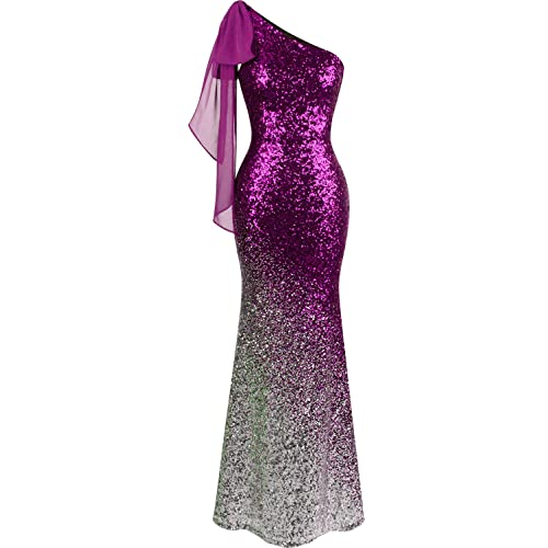 Dark Purple Mermaid Dresses: Amazon.com