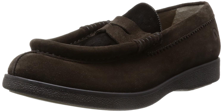 Geox Mocasines de Terciopelo Para Hombre Verde Caqui, Color Verde, Talla 43 EU: Amazon.es: Zapatos y complementos