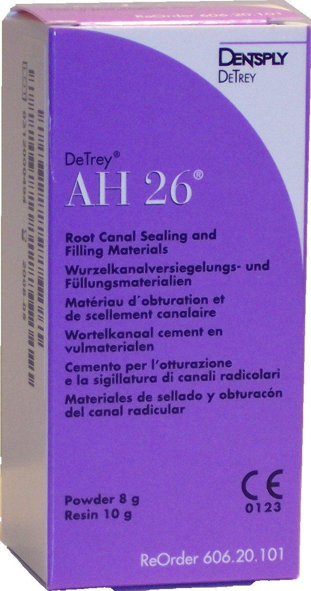 Dentsply 60620101 AH26 Root Canal Sealing and Filling Material Kit
