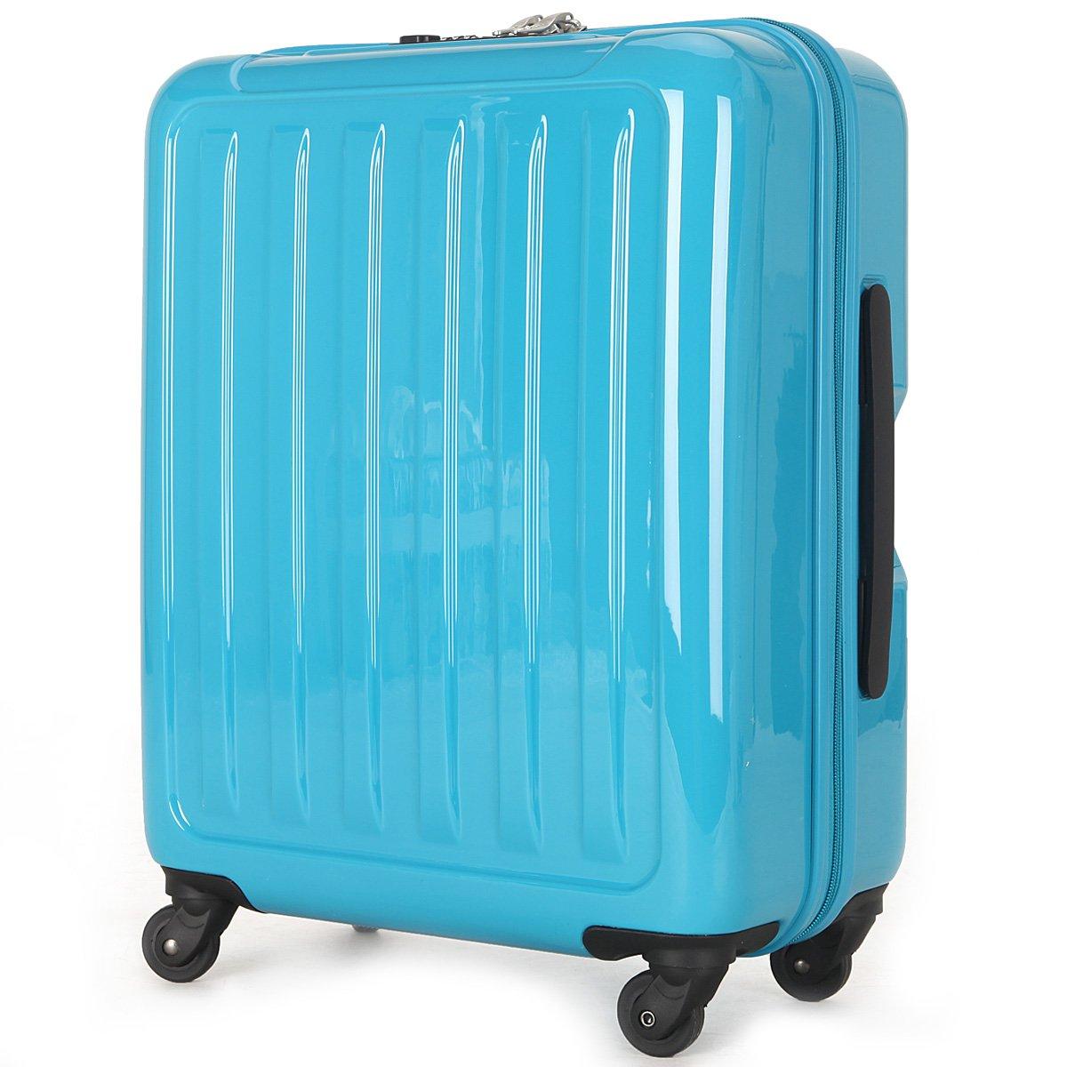 (ラッキーパンダ) Luckypanda 一年修理保証付 TY8048 スーツケース 機内持込 超軽量 40l 大容量 tsaロック B00YBV10IA ターコイズブルー ターコイズブルー