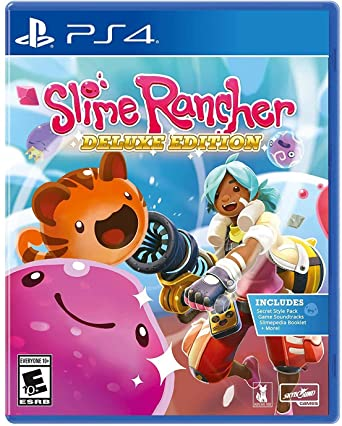 Amazon Com Slime Rancher Deluxe Edition Playstation 4 Video Games