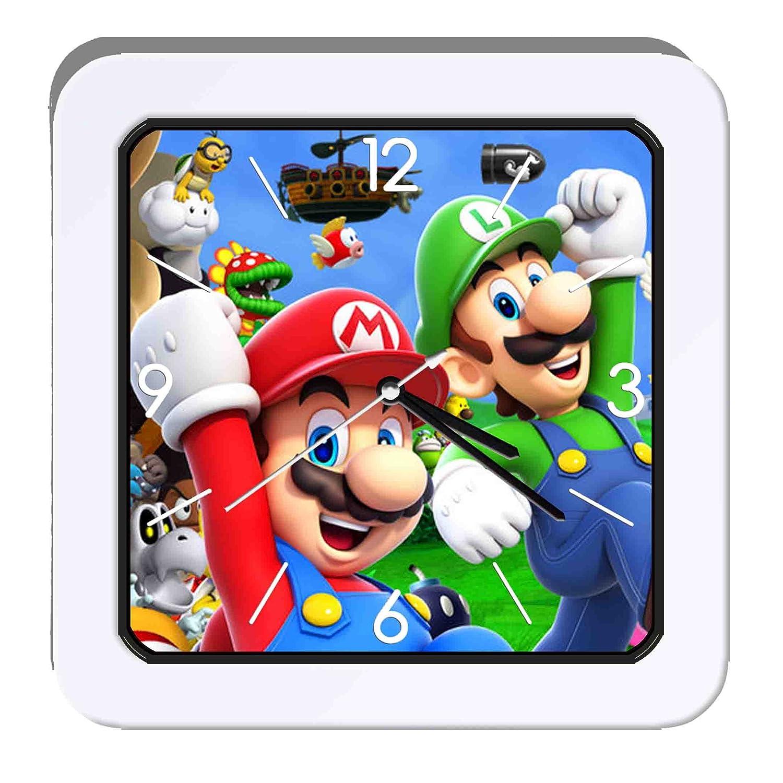 Super Mario Bros 6 Despertador: Amazon.es: Hogar