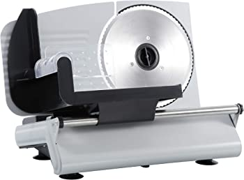 ZENY Professional Stainless Steel Electric 7.5 Meat Slicer