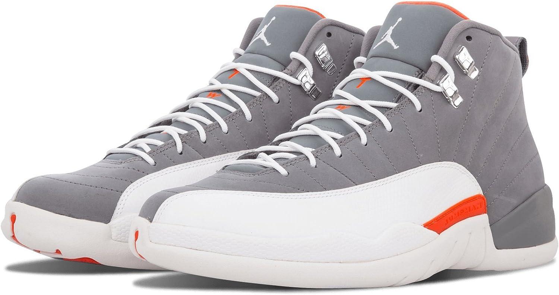 NIKE Mens Air Jordan 12 Retro Cool Grey