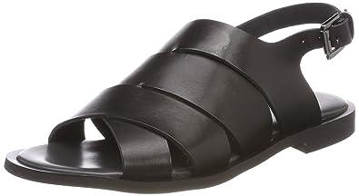 Shoe Biz Hester, Sandales Bride Cheville Femme, Noir (Florida Classic noir), 38 EU