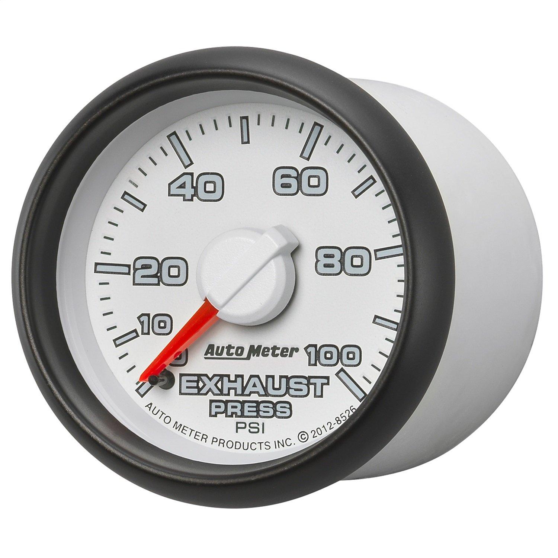 Auto Meter (8526) Dodge Match 2-1/16'' 0-100 PSI Mechanical Exhaust Pressure Gauge by Auto Meter (Image #3)