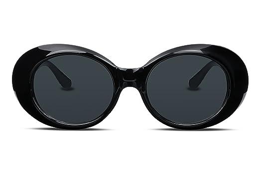 e047d21341 FEISEDY Clout Goggles Kurt Cobain Sunglasses HypeBeast Oval Mod Style B2253  B2253-XBK-FF